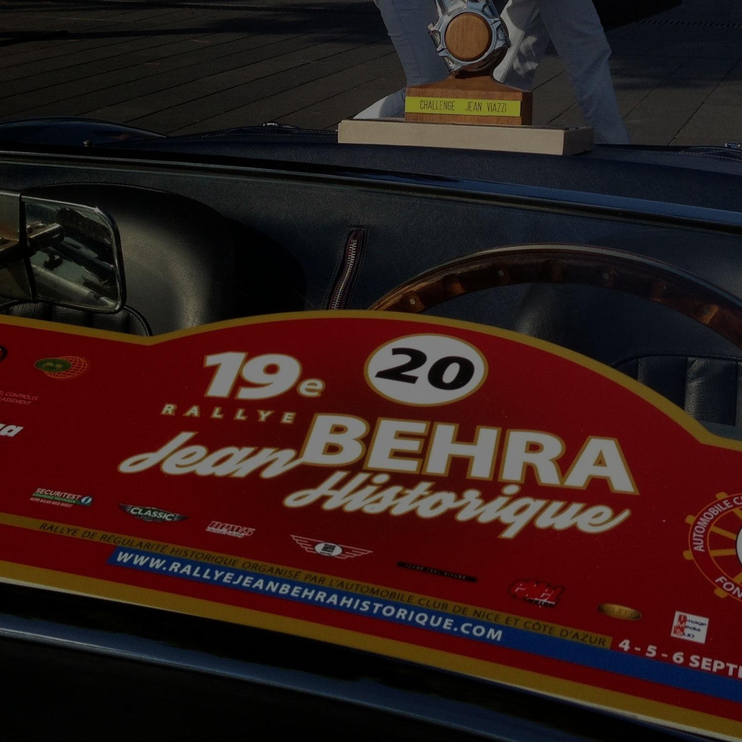 19e Rallye Jean Behra Prom du coeur Nice